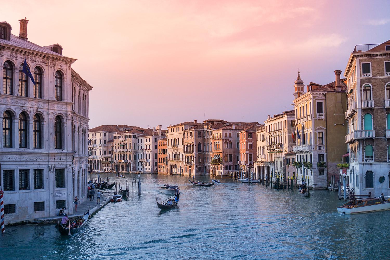 Sehenswürdigkeiten in der Lagunenstadt Venedig
