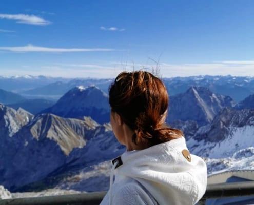Ausflug auf den höchsten Berg Deutschlands