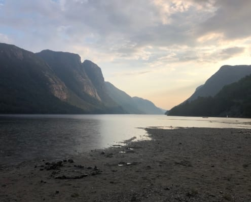 Entlang der Südküste Norwegens