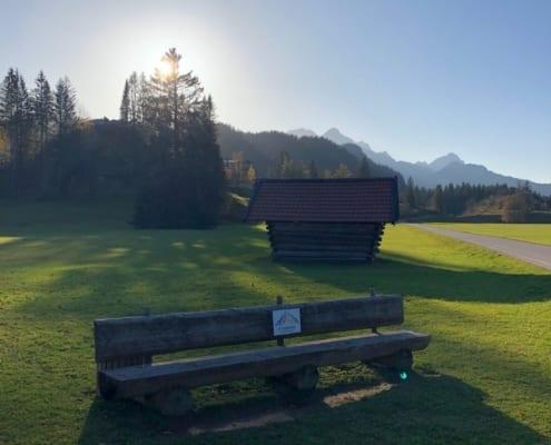 Goldener Oktober in Mittenwald