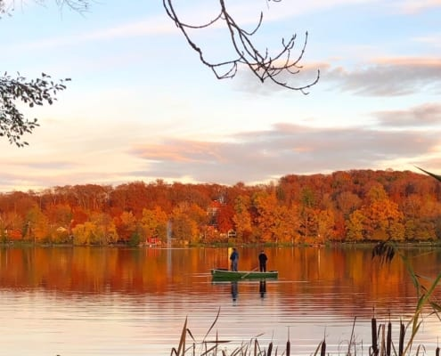 Herbst am Weßlinger See